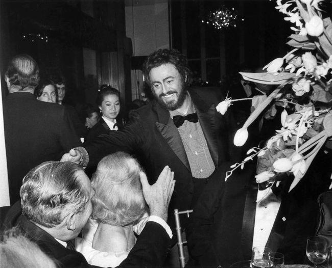 Pavarotti, Metropolitan Opera by Bill Cunningham contemporary artwork