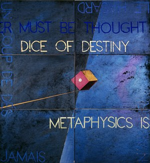 Metaphysical Detail V by Imants Tillers contemporary artwork