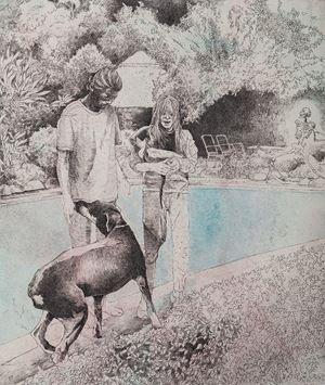 Dead Snake by Andrew Kayser contemporary artwork