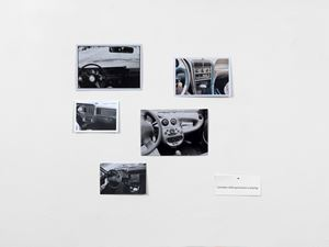 Car radios while good music is playing by Hans-Peter Feldmann contemporary artwork