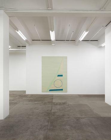 Exhibition view:Fredrik Værslev,Merman, Andrew Kreps Gallery, New York (7 January–11 February 2017). Courtesy the artist and Andrew Kreps Gallery, New York.