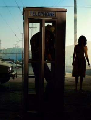 Yellow Pages by Alex Prager contemporary artwork