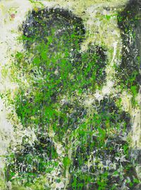 Hidden Mountain by Lin Chih Chien contemporary artwork painting