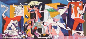 Guernica by Alex Chaves contemporary artwork