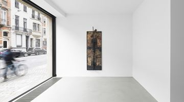 Xavier Hufkens contemporary art gallery in 44 rue Van Eyck, Brussels, Belgium