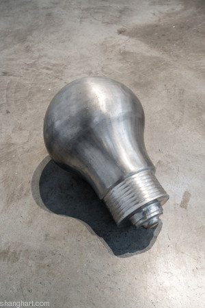The Light Bulb (1) by Zhang Enli contemporary artwork