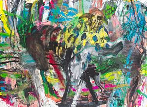 Trophies and Sycophants by Misheck Masamvu contemporary artwork