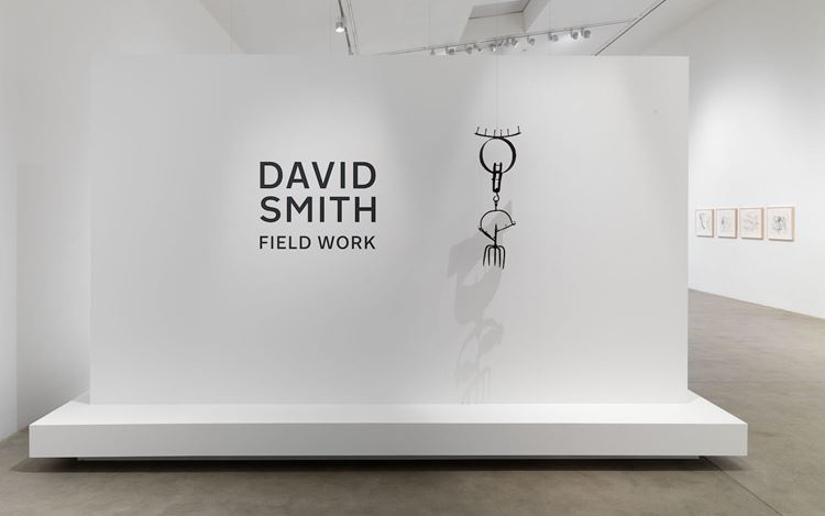 Exhibition view: David Smith, Field Work, Hauser & Wirth, Somerset (28 September 2019–5 January 2020). © 2019 The Estate of David Smith / Licensed by VAGA at Artists Rights Society (ARS), NY. Courtesy The Estate of David Smith and Hauser & Wirth. Photo: Ken Adlard.