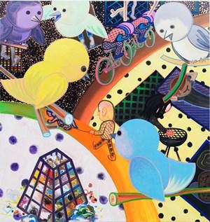 V-Park by Marcus Weber contemporary artwork