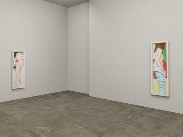 XR Exhibition view: Chantal Joffe,Chantal Joffe: Naked, Victoria Miro on Vortic (17 November–18 December 2020). All works © Chantal Joffe. Courtesy the artist and Victoria Miro, London/Venice.