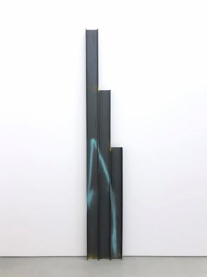 Untitled Steel Beams (3 parts) by Kaz Oshiro contemporary artwork