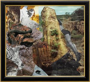 Garden Gate by Michael Taylor contemporary artwork