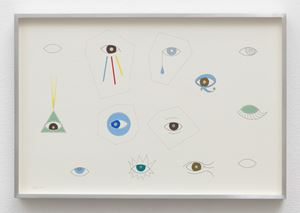 Eyes by Linda Stark contemporary artwork