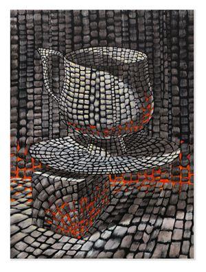 Careless Cup and Complicit Saucer by Derek Cowie contemporary artwork