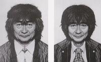 Seiji Ozawa (diptych) by Jiří David contemporary artwork photography