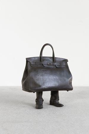 Short bag by Erwin Wurm contemporary artwork