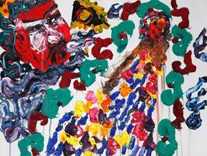 Ladybird's Garden 3 by Chen Ping contemporary artwork