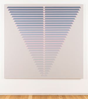 Thirty One Steps by Tess Jaray contemporary artwork