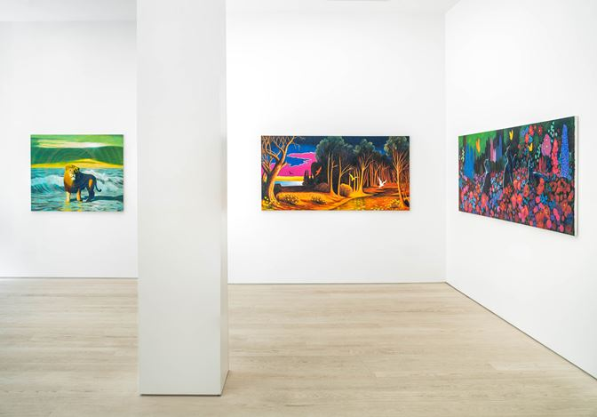 Exhibition view: Martin Jacobson, The Garden is Open, Andréhn-Schiptjenko, Stockholm (7 May–27 June 2020).Courtesy the artist and Andréhn-Schiptjenko, Stockholm, Paris.
