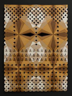 Mangaia calling by Lonnie Hutchinson contemporary artwork