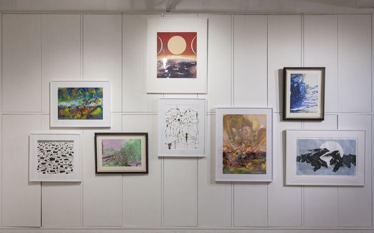 Exhibition view:Cai Jin 蔡錦,Hanart TZ Gallery, Hong Kong (11 January – 11 February 2021). Courtesy Hanart TZ Gallery.