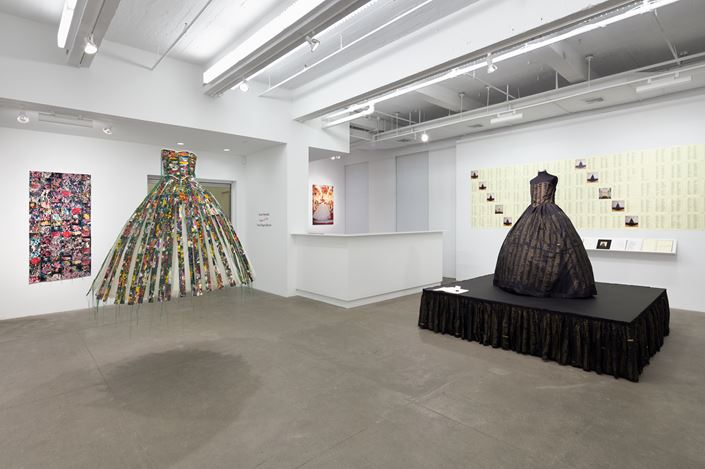 Exhibition view: Hunter Reynolds, From Drag to Dervish, P·P·O·W Gallery (21 November–21 December 2019). CourtesyP·P·O·W Gallery.