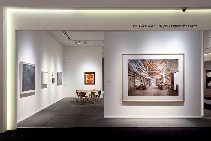 Ben Brown Fine Arts,TEFAF Maastricht (7–15 March 2020). Courtesy Ben Brown Fine Arts.