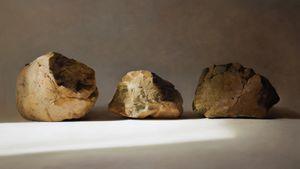 Three Stones 1 by Pan Yingguo contemporary artwork
