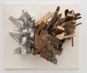 Number 137d by Leonardo Drew contemporary artwork sculpture