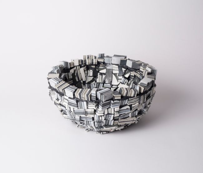 Paint bowl (bricks, small) # I by Gabi By Gabrielle Kruger contemporary artwork