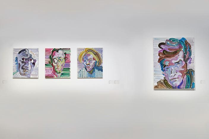 Exhibition view: Etsu Egami, Rainbow,Whitestone Gallery, Taipei (23 January–14 March 2021). Courtesy Whitestone Gallery, Taipei.
