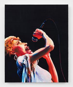 Tammy Wynette by Sam McKinniss contemporary artwork