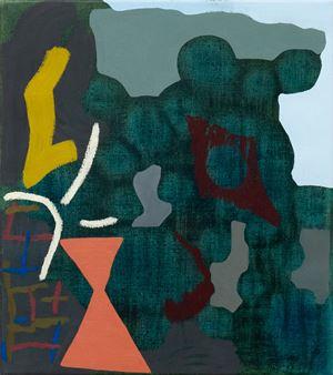 Splintering by Tonee Messiah contemporary artwork