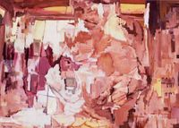 A.V series-1 by Zhou Sijin contemporary artwork painting