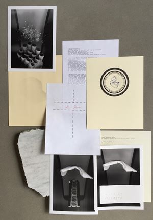 The Dashiell Delay–an Edition Subscription, 2006 (For Parkett 77) by Trisha Donnelly contemporary artwork