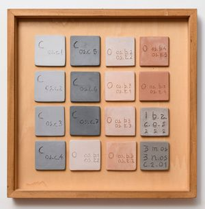 Swatch Table n. 2 by Nedda Guidi contemporary artwork