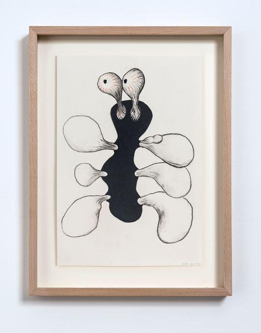 Dark Collage (No.3) by Judith Egger contemporary artwork