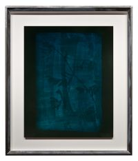 Stem of Leaves and Flowers, circa 1834-1839 by Hiroshi Sugimoto contemporary artwork photography