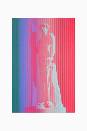 As Yet Titled (Skier) by Richard Phillips contemporary artwork