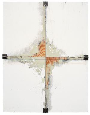 Wall and Wire Rope 1 by Noriyuki Haraguchi contemporary artwork