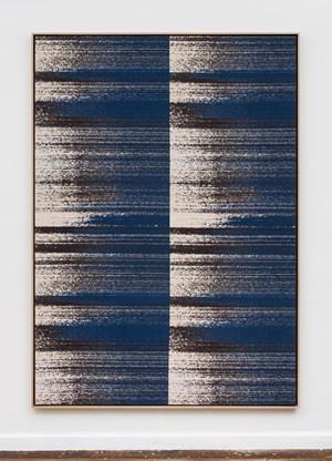 Negative Entropy (Digital Ocean, NYC2 Super Micro, Blue, Quad) by Mika Tajima contemporary artwork