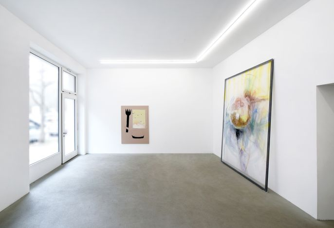 Exhibition view: Group Exhibition, Sofia Silva | Sarah Loibl, Rolando Anselmi, Berlin  (19 March–28 April 2021). Courtesy Rolando Anselmi. Photo: Riccardo Malberti.