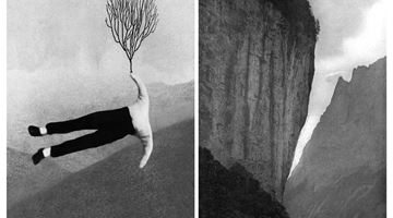 Contemporary art exhibition, Pat Brassington, Night Swimming at Arc One Gallery, Melbourne