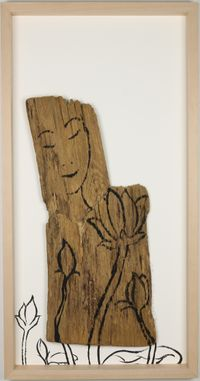 Neowa 59 I am happy at this moment. by Suknam Yun contemporary artwork works on paper
