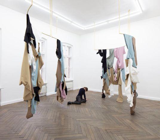Exhibition view: Fanny Gicquel, do you feel the same, Hua International, Berlin (27 February–15 May 2021). Courtesy Hua International.