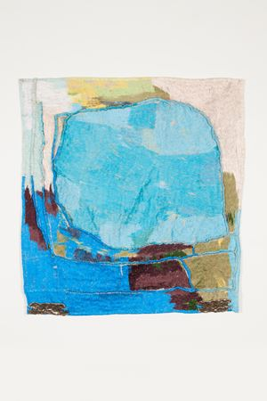 A clearing, a periphery by Teelah George contemporary artwork