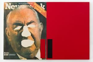 The Illustration of Art / Uncovering the Cover-Up by Antonio Dias contemporary artwork