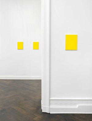 Untitled (3 Yellows) by Mayo Thompson contemporary artwork