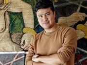 Khadim Ali's artwork tells of loss and living