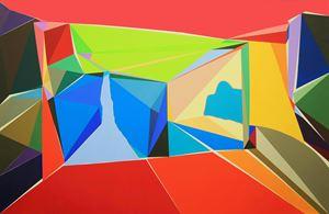 Gestalt Space by Wang Zhiyi contemporary artwork